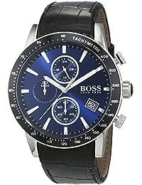 cc7b359f1123 Hugo BOSS Reloj Cronógrafo para Hombre de Cuarzo con Correa en Cuero 1513391