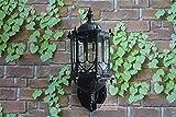 Yisaesa Außenwandleuchten Außenwandleuchte Wasserdichtes Gartenlicht Außentor Wandleuchte Villa Balkon Außenwand Eingangstür Lampe Korrosionsbeständigkeit (Farbe : -, Größe : -)
