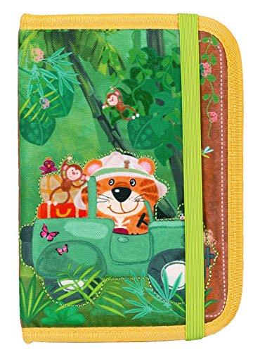 okiedog wildpack Pasaporte Funda para niños, TIGER orange...
