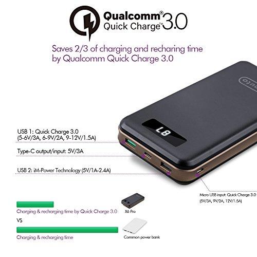Qualcomm-Certificada-Quick-Charge-30-USB-C-imuto-30000mAh-3-Puertos-USB-Batera-Externa-Carga-Rpida-Power-Bank-QC30-y-USB-C-Tipo-C-Cargador-Porttil-Mvil-para-Nintendo-Switch-iPhone-Samsung-Huawai-Table