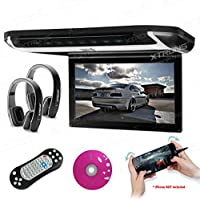 XTRONS® 12.1pulgadas reproductor de vídeo de 1080p coche Overhead montaje en techo monitor HDMI puerto