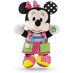 Clementoni–52281–Peluche Baby Minnie–habille-moi. Disney–Premier Age