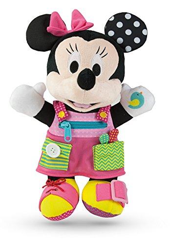 Clementoni–52281–Plüsch Baby Minnie–Dress (Dress Up Minnie)