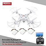 GoolRC yma X5SW Drone con Cámara 0.3MP Wifi FPV 2.4G 4CH 6-axis Gyro RC Quadcopter con 2 Baterías Extras