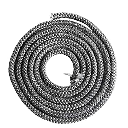 Kamino-Flam Cristal–Cuerda Antracita Diámetro 10x 2mm pegamento, 333211