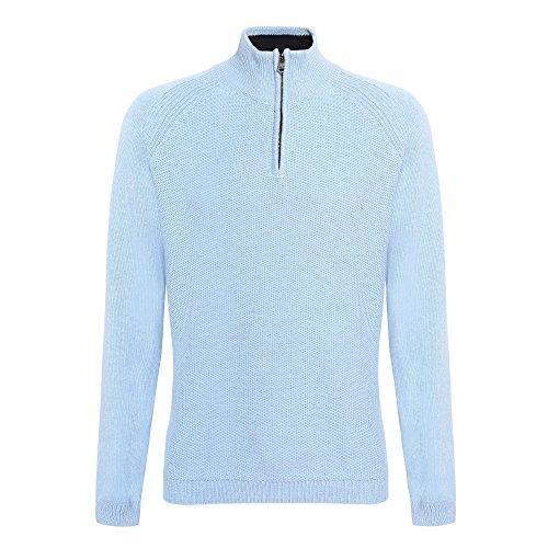 Affordable Fashion - Pull à col zippé - Homme Bleu marine profond