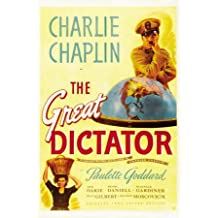 Póster 'El gran dictador', Tamaño: 69 x 102 cm