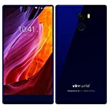 VKworld Mix Plus - 5.5 Zoll fast randloses Touch-Display 4G Android 7.0 ohne Vertrag - 3GB RAM+32GB ROM, 13MP Hauptkamera / 8MP Frontkamera,Dual SIM - blau