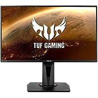 "Asus TUF Gaming VG259QM - Monitor gaming de 24.5"" FullHD (1920x1080, Fast IPS, 280 Hz, 1 ms GTG, 16:9, LED, ELMB SYNC, G-Sync Compatible, DisplayHDR 400) Negro"