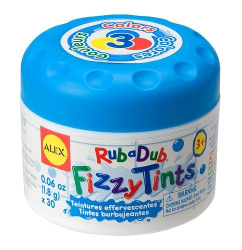 ALEX Toys Giochi nella vasca da bagno Fizzy Tints - Colora il bagnetto