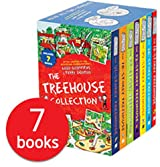 The 13 Storey Treehouse Collection - 7 Books