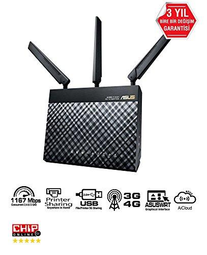 Asus DSL-AC55U Modem Router Dual-band Wi-Fi...