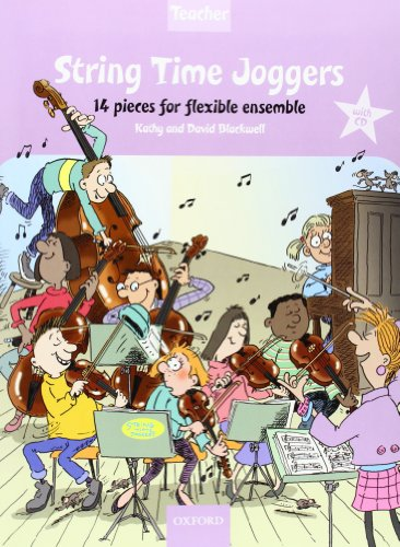 String Time Joggers Teacher's pack 14 pieces for flexible ensemble (Pack) (String Time Ensembles) por From Oxford University Press