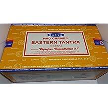 3x Oriental Tantra paquetes de Satya Nag Champa varillas de incienso–15G con recuerdo insignia por ley Effectz