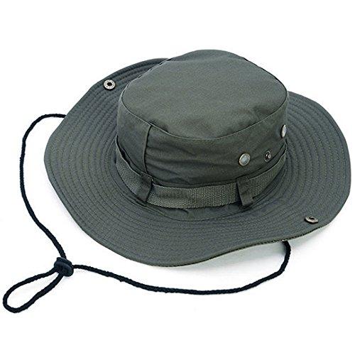 Millya Outdoor Sun Cap reversibile mimetico secchio Boonie Cappello Army