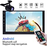 17,8 cm neuesten Android 6.0 Autoradio Doppel 2 DIN Quad Core Bluetooth Wifi Autoradio Auto Stereo Touchscreen in Dash Navigation GPS-Empfänger Head Unit Auto Audio-Unterstützung 1080P Video WIFI Handy Link