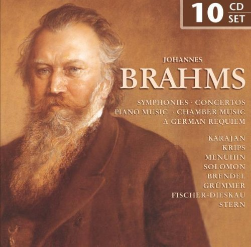 The Greatest Works of Johannes Brahms: Symphonies/ Concertos/ Piano Music/ Chamber Music/ A German Requiem by Yehudi Menhuhin Brahms Symphony 2 Fischer