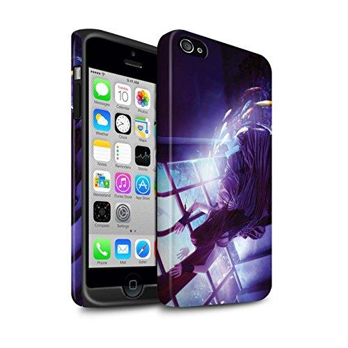 Officiel Elena Dudina Coque / Matte Robuste Antichoc Etui pour Apple iPhone 4/4S / Pack 7pcs Design / Agua de Vida Collection Laisse Moi Entrer