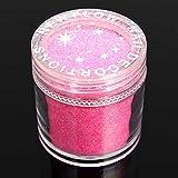 Bluelover 12 colori Holo nail art polvere glitter lucido polvere fetta punte olografica decorazione rosa
