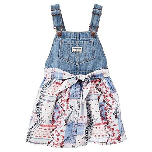 oshkosh-bgosh-latzkleid-kleid-madchen-jeanskleid-babykleid-6-monate-blau-weiss