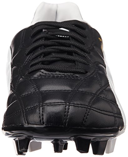 Puma  Classico FG, Chaussures de football homme Noir (Black/White/Gold)