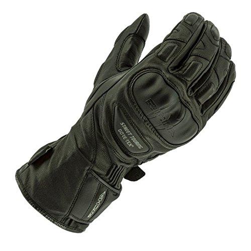 Richa Calle Touring GTX Gore-Tex impermeable moto guantes de ciclismo, color negro