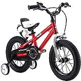Royalbaby Unisex Youth Freestyle boy's Girl's stabilisers Kids Children Child Bike Bicycle, red