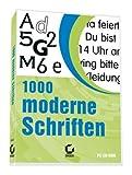 1000 moderne Schriften -