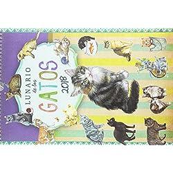 Lunario de los gatos. Calendario 2018
