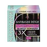 crema viso antirughe detox trattamento antiossidante spf15 50 ml