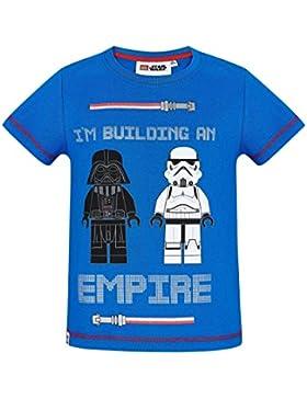 LEGO Star Wars Chicos Camiseta Manga Corta - Azul