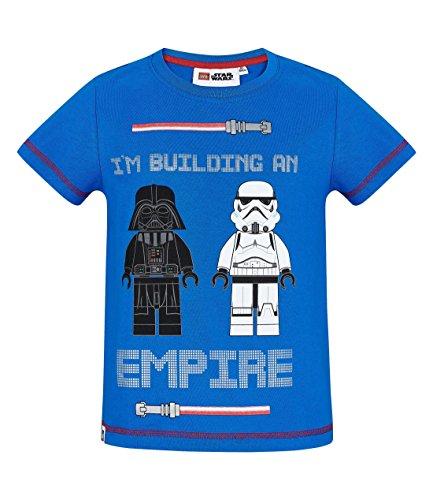 LEGO Star Wars Chicos Camiseta Manga Corta - Azul - 104