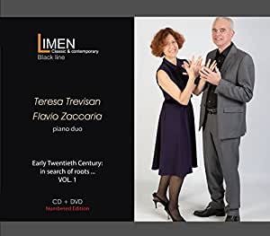 Early Twentieth century: in search of roots (CD+DVD) - Teresa Trevisan and Flavio Zaccaria play J. S. Bach, G. Tagliapietra, F. Busoni