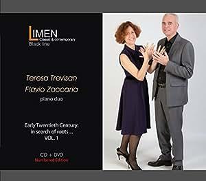 Early Twentieth century: in search of roots (CD+DVD) - Teresa Trevisan and Flavio Zaccaria play J. S. Bach, G. Tagliapietra, F. Busoni