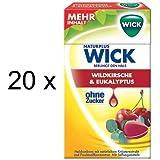 Wick Wildkirsche & Eukalyptus ohne Zucker (20x 46g Box)