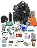 TSK Medical Une Personne 72 Heures Sac de Sortie de Bogue d'urgence - Sac d'évacuation (Noir) (Oliv)