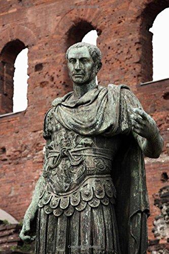 Statue of Julius Caesar Journal: 150 page lined notebook/diary (Caesar Statue Von Julius)