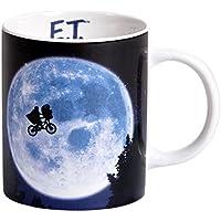 E.T. Copa a la película 320 ml de negro azul de cerámica