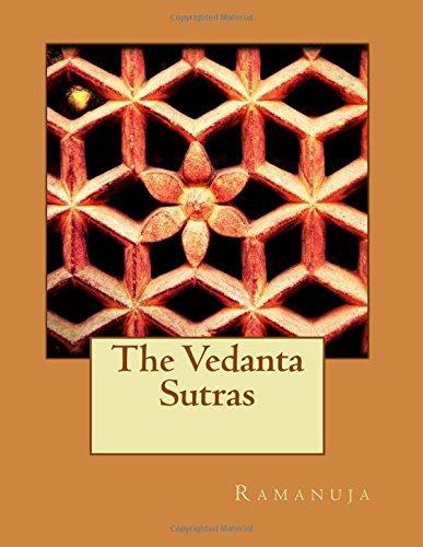 The Vedanta Sutras by Ramanuja (2016-03-18) par Ramanuja