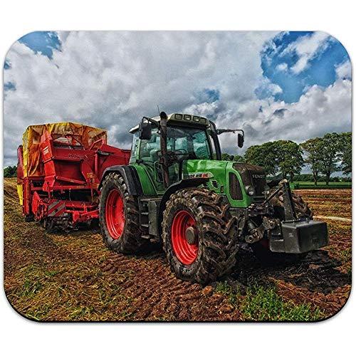 Gráficos más Alfombrilla ratón Green Tractor Granja