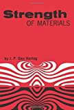 Strength of Materials (Dover Books on Physics) by J. P. Den Hartog (2003-03-17)