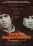 ConKrea Oasis Supersonic - POSTER MANIFESTO ORIGINALE CINEMA - Dimensione 70x100cm