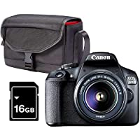 Canon EOS 2000D DSLR camera with 18-55mm DC III lens Kit