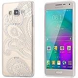 ECENCE Samsung Galaxy A3 (2016) COQUE DE PROTECTION ÉTUI HOUSSE SLIM CASE TRANSPARENTE CLEAR transparent feuille 42010503