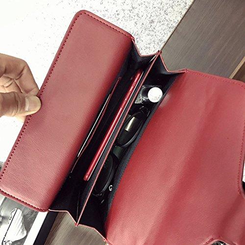 Weibliche mode Wein Götter Liu nagel paket Kette schultertasche messenger bag Rotwein