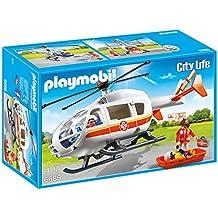Playmobil - Helicóptero médico de emergencia (66860)