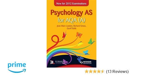 psychology a2 for aqa a rolls geoff gross richard lawton jean marc