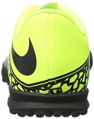 Nike - Jr Hypervenom Phade Ii Tf, Scarpe da calcio Unisex – Bimbi 0-24 Giallo (Volt/black-hyper turq-clear jade)
