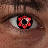 aricona Farblinsen Sasuke Uchiha Mangekyou Sharingan Kontaktlinsen Naruto Cosplay