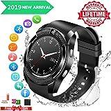 Montre Connectée Etanche,Smart Watches for men,Smart Watch con Caméra whatsapp,...